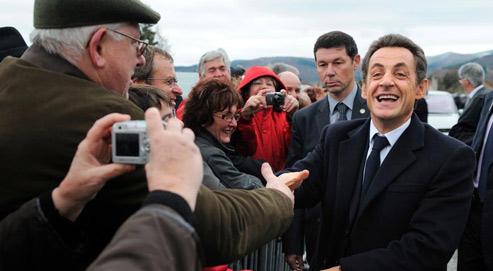 «Même omniprésident, cela me vaut des omniembêtements», a ironisé Nicolas Sarkozy, en faisant allusion à la réforme des retraites et à celle de la dépendance. (Crédits photo: Éric Feferberg/Reuters)