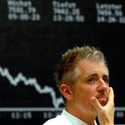 Dettes : les banques souffrent en Bourse