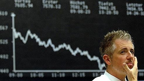 Les marchés d'actions sont littéralement plombés par les mauvaises performances des banques.