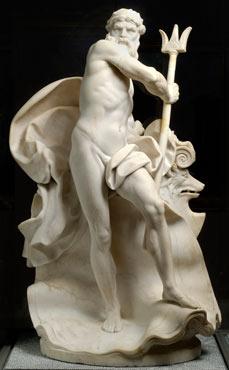 Augustin Pajou, Neptune irrité, 1767, Lyon, Musée des Beaux-Arts (© Lyon MBA / Alain Basset)
