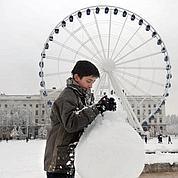 Fortes chutes de neige dans le nord-ouest