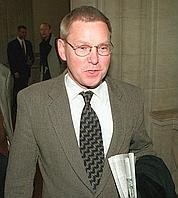 Detlev Mehlis, premier juge en charge de l'affaire en 2005.