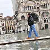 «Acqua alta» exceptionnelle à Venise