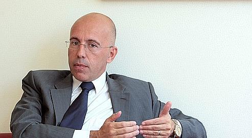 Le député UMP des Alpes-Maritimes, Éric Ciotti, le 3 août 2010 à Nice.