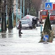 Cherbourg : après la neige, les inondations
