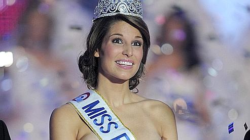 Laury Thilleman, 19 ans, Miss Bretagne, a été élue Miss France 2011.