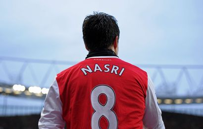 Nasri, le plus d'Arsenal