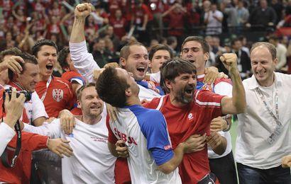 La Serbie assomme la France