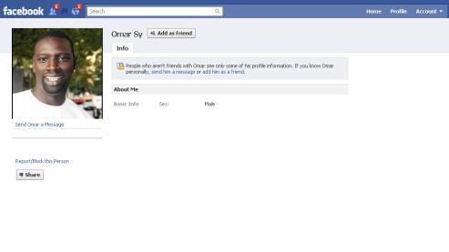 Plusieurs faux profils de l'humoriste subsistent sur Facebook.