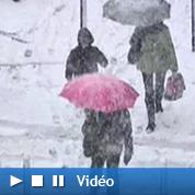 La neige chamboule la vie des Franciliens