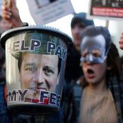 Cameron face à la réforme des universités
