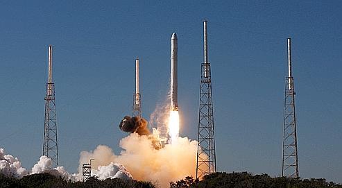 Succès du premier lancement d'une capsule privée
