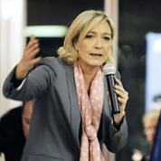 FN : Marine Le Pen veut marquer des points