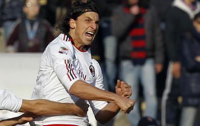 Le Milan AC à sa main