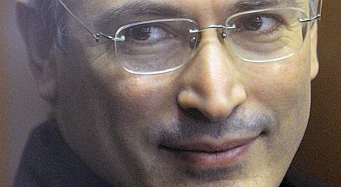 L'ex-patron de Ioukos, Mikhaïl Khodorkovski, le 2 novembre dernier.