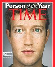 Mark Zuckerberg est décrit par le Time comme «un chef d'Etat en T-shirt».