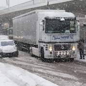La neige a perturbé l'activité économique