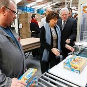 Après Royal, Aubry visite les usines