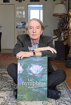 Patrick Grainville : «Monet peint avec des transes de doutes et une ferveur hallucinatoire.»