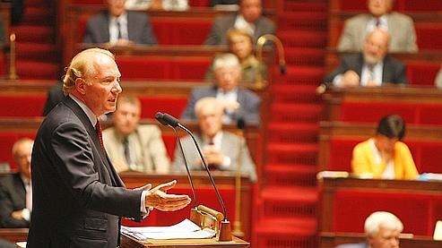 Après le rejet de son propre amendement, le ministre de l'Intérieur, Brice Hortefeux, s'en est remis «à la sagesse» de l'Assemblée (archive).