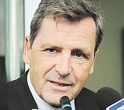 Alain Leroy: «Nous demandons aux deux parties un maximum de retenue.» Crédits photo: AFP.