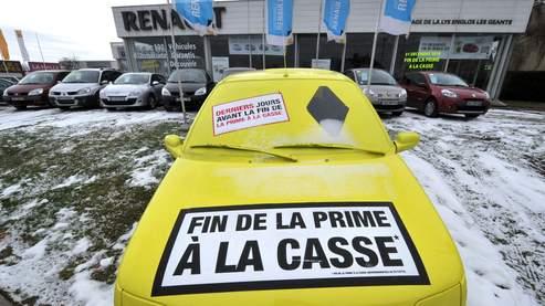 Fin de la prime à la casse : l'automobile sous pression