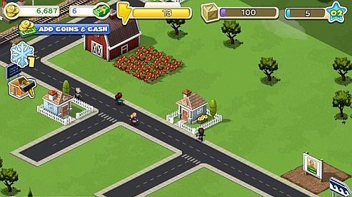 elayam 5 le jeu cityville bat des records sur facebook. Black Bedroom Furniture Sets. Home Design Ideas