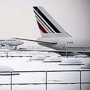 Neige: lourde facture Air France et ADP