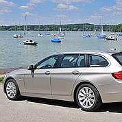 BMW 520d Touring : l'élégance faite break