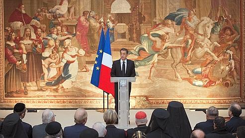 Nicolas Sarkozy a présenté, vendredi matin, ses vœux aux représentants des religions.