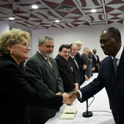 Les ambassadeurs en «résistance» à Abidjan