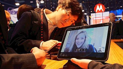 La tablette Xoom de Motorola, une des vedettes du CES 2011.
