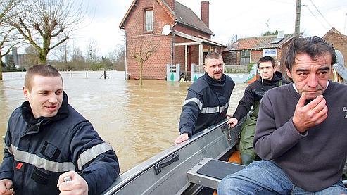 Les inondations se poursuivent dans le nord