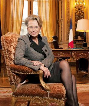 Michèle Alliot-Marie lancera la semaine prochaine à Doha (Qatar) un appel à la tolérance et au respect mutuel entre les trois religions monothéistes. (Jacques Torregano/Le Figaro Magazine)