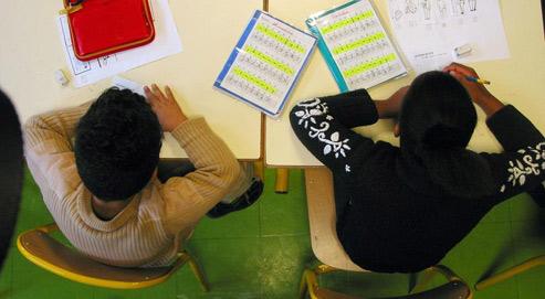 L'intégration des devoirs dans le temps scolaire fait partie des thèmes qui ont suscité le plus de réactions sur Internet. (Crédits photo: Paul Delort/ le Figaro)