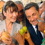 Bain de foule pour Sarkozy en Martinique