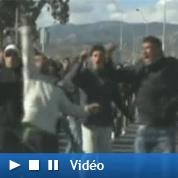 Scènes de chaos dans la capitale tunisienne