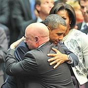 Barack Obama console la nation américaine