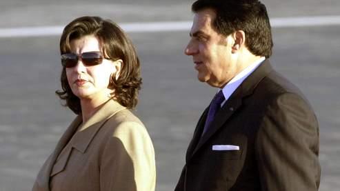 Ben Ali et sa femme Leïla. Le magazine américain Forbes a estimé la fortune de l'ex-président à 5 milliards de dollars.