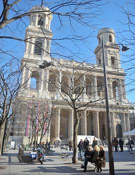 Après une restauration «pharaonique», la tour nord de l'église Saint-Sulpice est rendue depuis dimanche à la vue des Parisiens et des touristes.