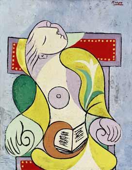La Lecture, Picasso. (Sotheby's)