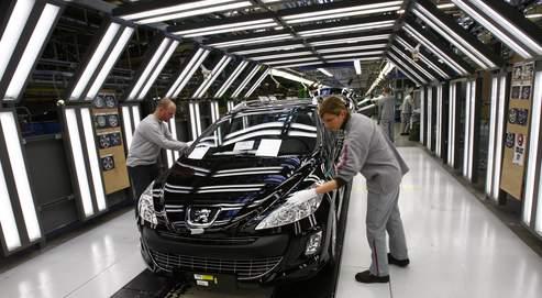 L'usine sochalienne de Peugeot.