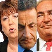 DSK et Aubry creusent l'écart sur Sarkozy