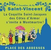 Montmartre fête la coquille Saint-Jacques !