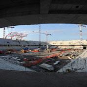 Les stades, une manne pour les géants du BTP