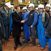 Sarkozy lance l'éolien marin en France