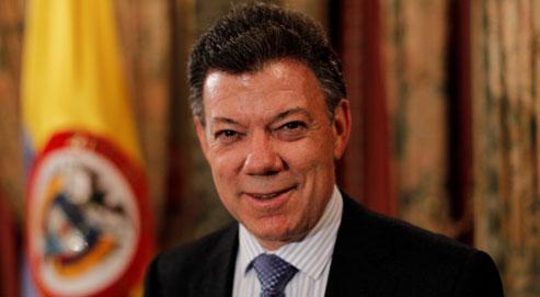 Juan Manuel Santos, lundi à Paris : si les Farc «abandonnent leur comportement