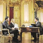 Manuel Valls à l'Élysée