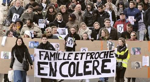 Une marche silencieuseen l'honneurde la jeune disparuede Pornic,Laëtitia Perrais,a eu lieulundi dernierà Saint-Nazaire.