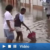 Des pluies diluviennes inondent la Réunion